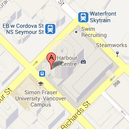 SFU Harbour Centre map