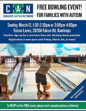 Family Bowling: for families living with autism