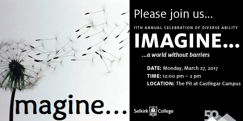 IMAGINE... a world without barriers...