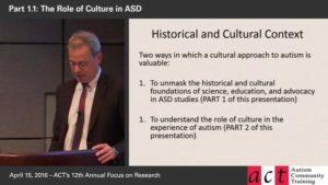 ASD across cultures