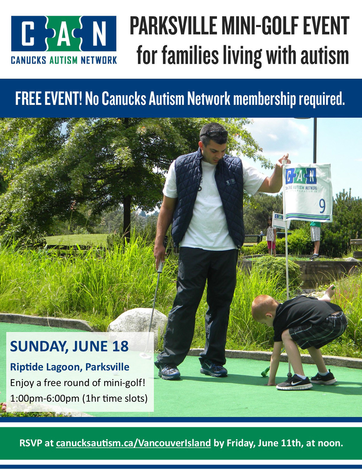 Parksville Mini Golf: for families living with autism