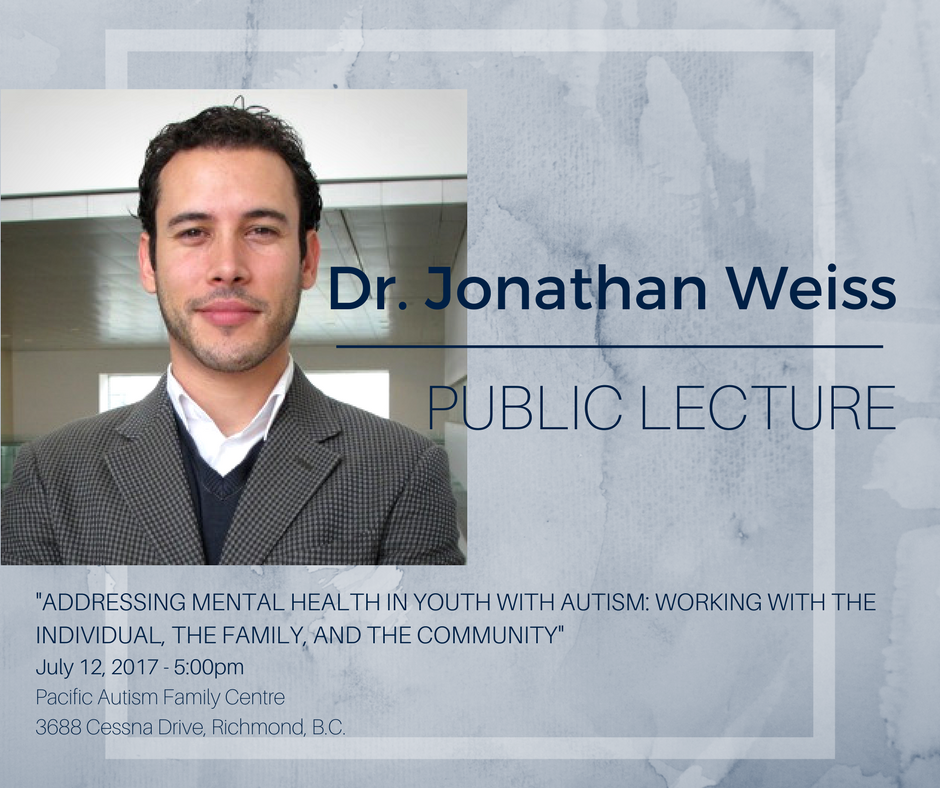 Addressing mental health in youth with autism: Working with the individual, the family, and the community