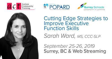 Sarah Ward 2019 Cutting Edge Strategies