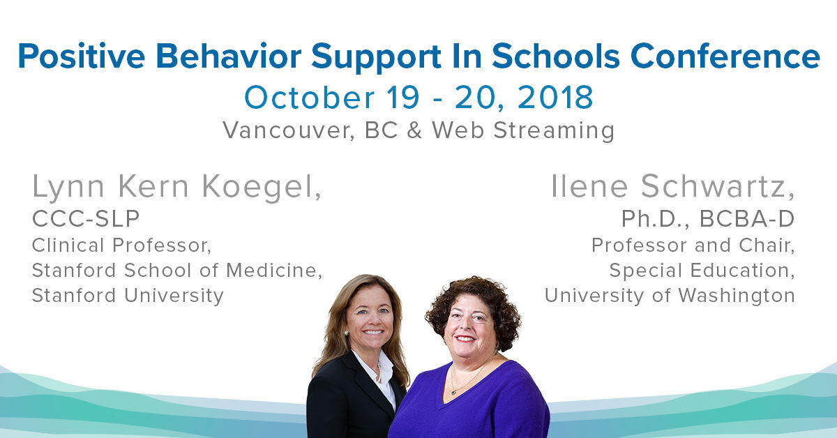 Positive Behavior Support in Schools Conference