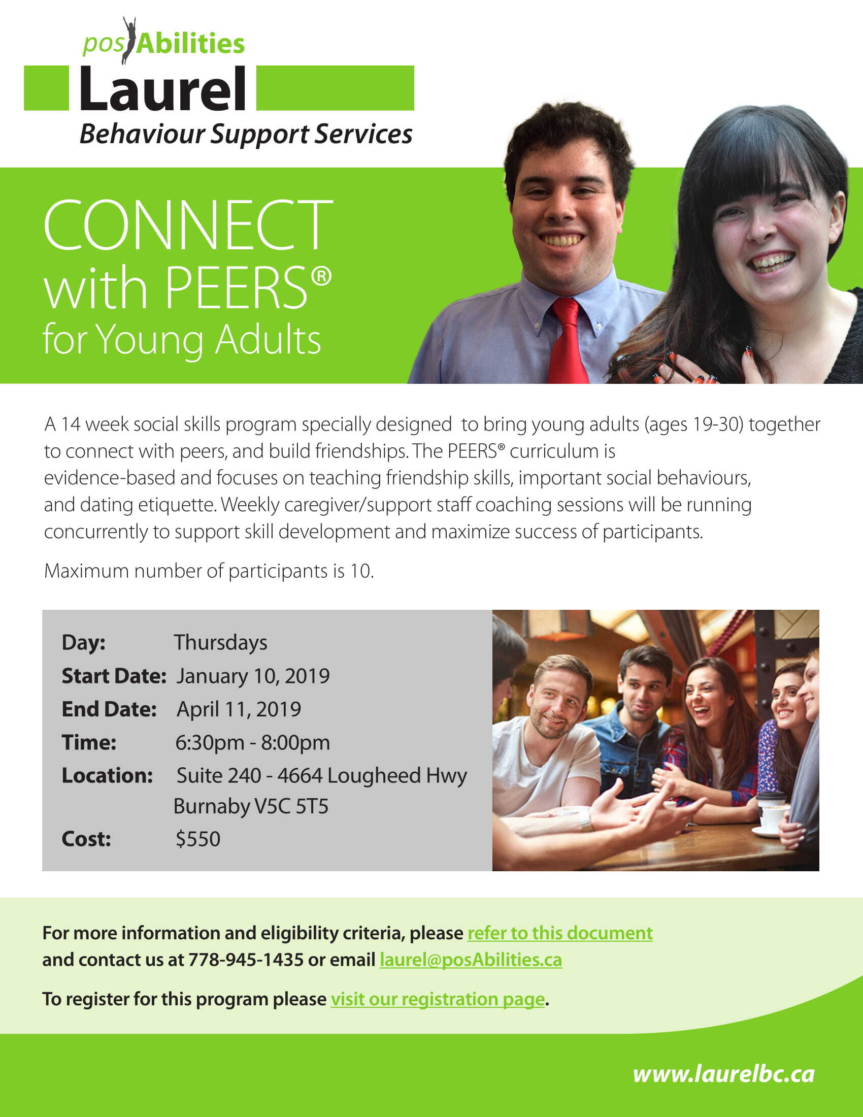 CONNECT with PEERS for Young Adults