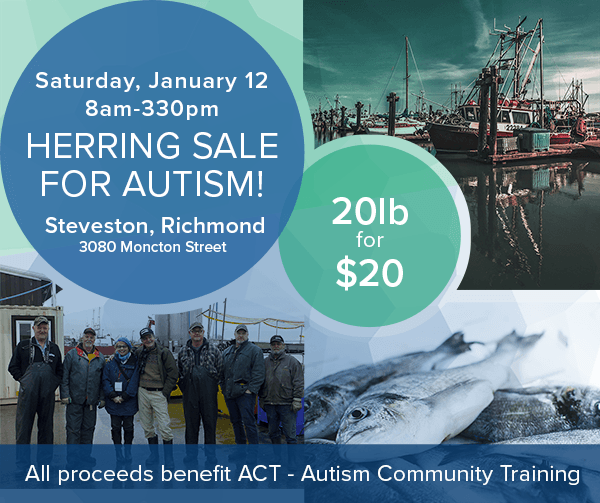 ACT's 2nd Annual 'Herring for Autism' Sale