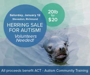 Volunteer at the Herring for Autism Fundraiser