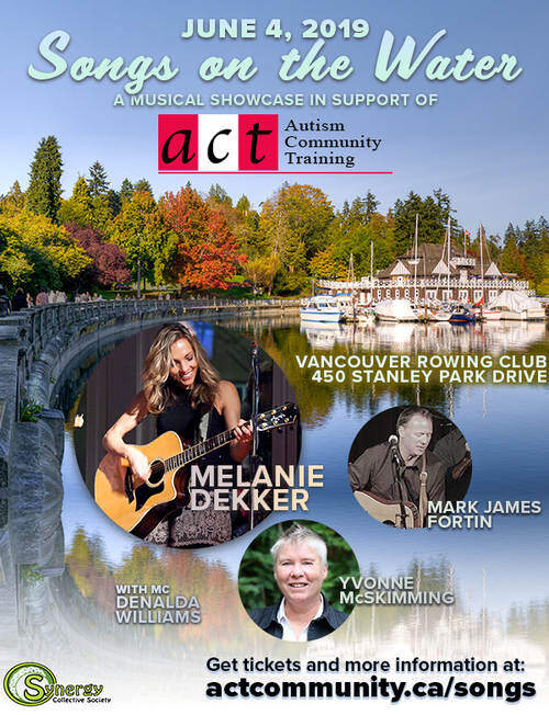Songs on the Water: A Musical Showcase in Support of ACT - Autism Community Training