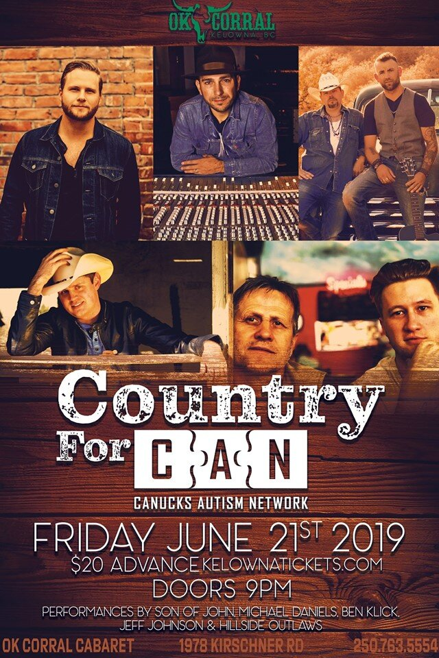 Country for CAN | Benefit Concert