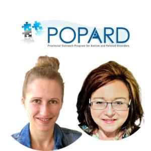 POPARD Presenters Alex Voroshina and Georgina Robinson