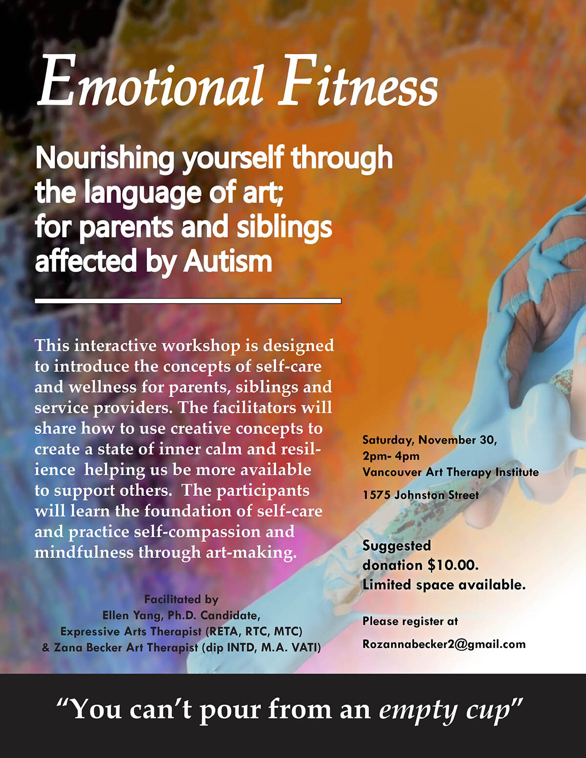 Emotional Fitness Project for Parents and Siblings Affected by Autism