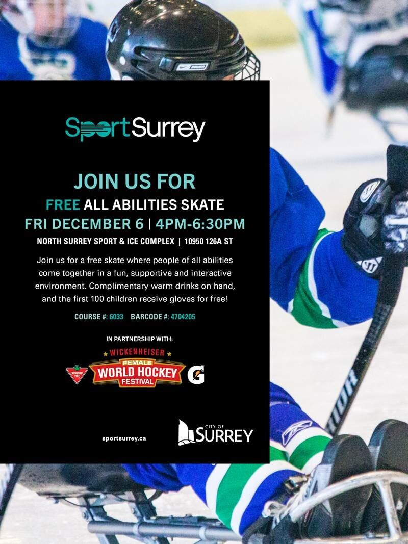 Sport Surrey: All-Abilities Skate