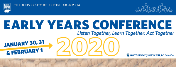 Early Year Conference 2020 - Listen Together, Learn Together, Act Together