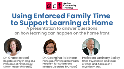 Using Enforced Family Time to Support Learning at Home