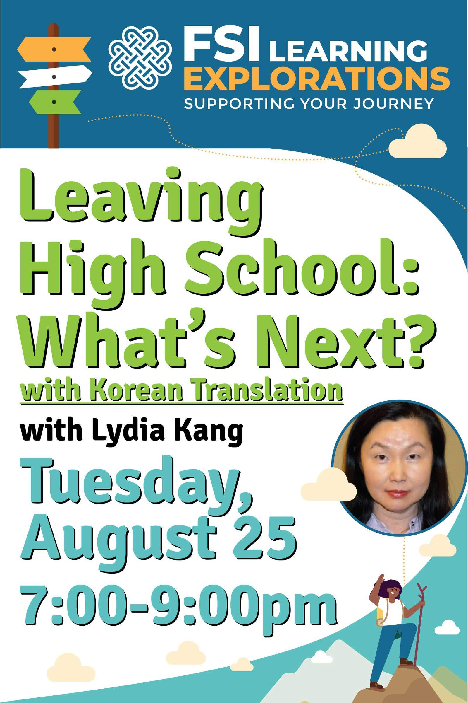 FSI Learning Explorations - Leaving High School: What's Next with Korean Translation