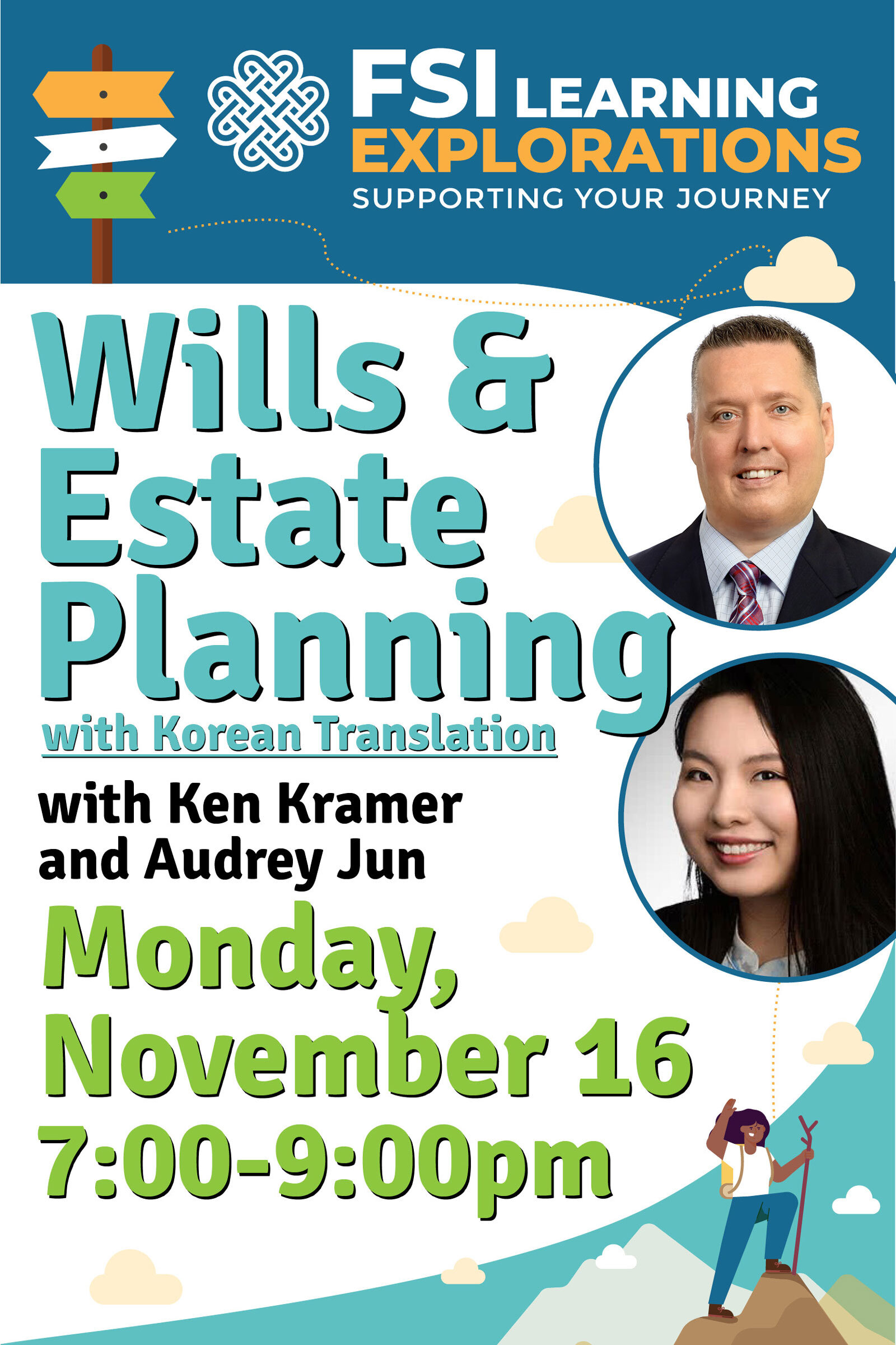 FSI Learning Explorations - Wills and Estates Planning with Korean Translation