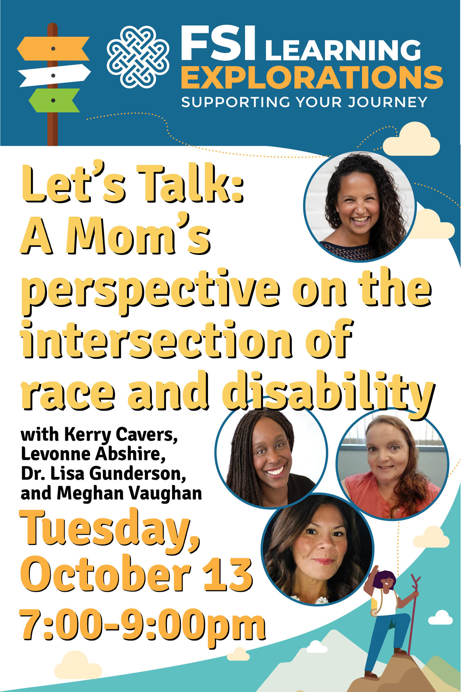 FSI Learning Explorations -Let's Talk: A Mom's perspective on the intersection of race and disability.
