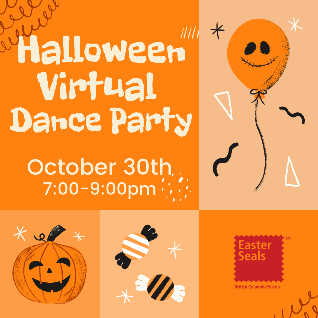 Easter Seals - Halloween Virtual Dance Party!