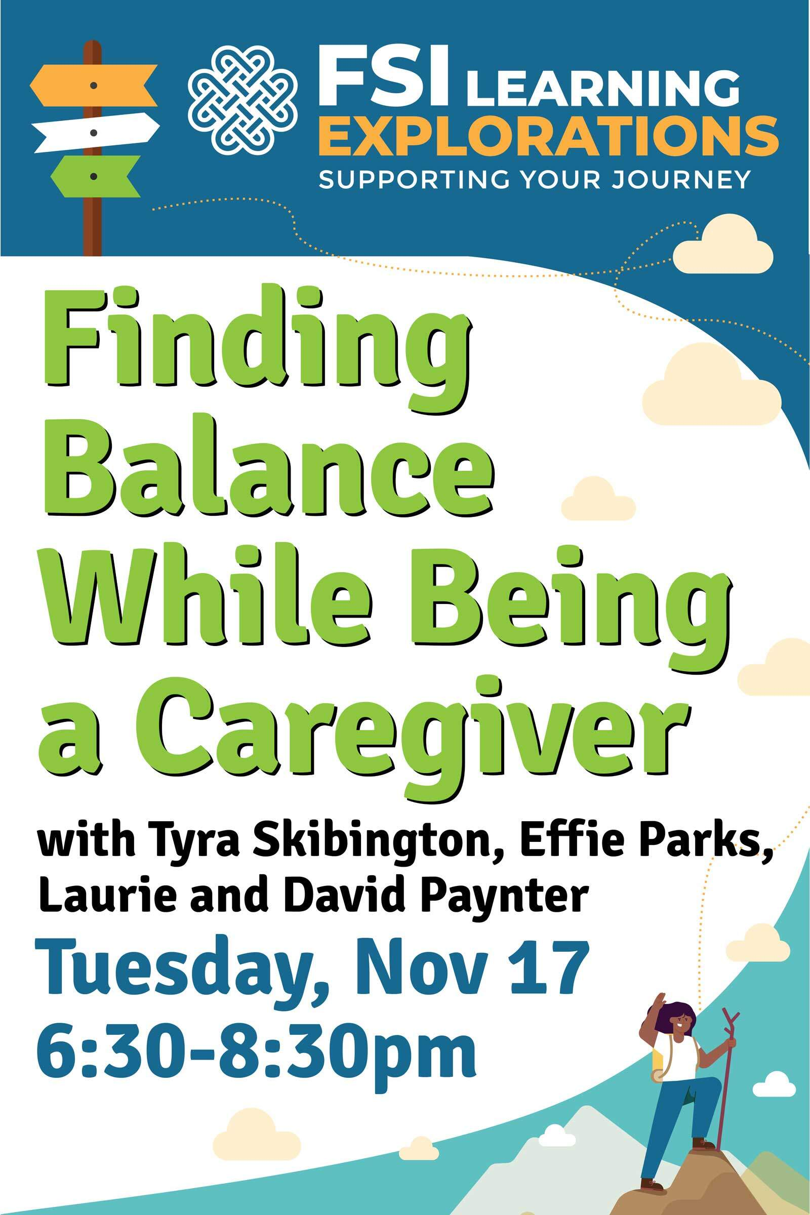 FSI Learning Explorations - Finding Balance While Being a Caregiver