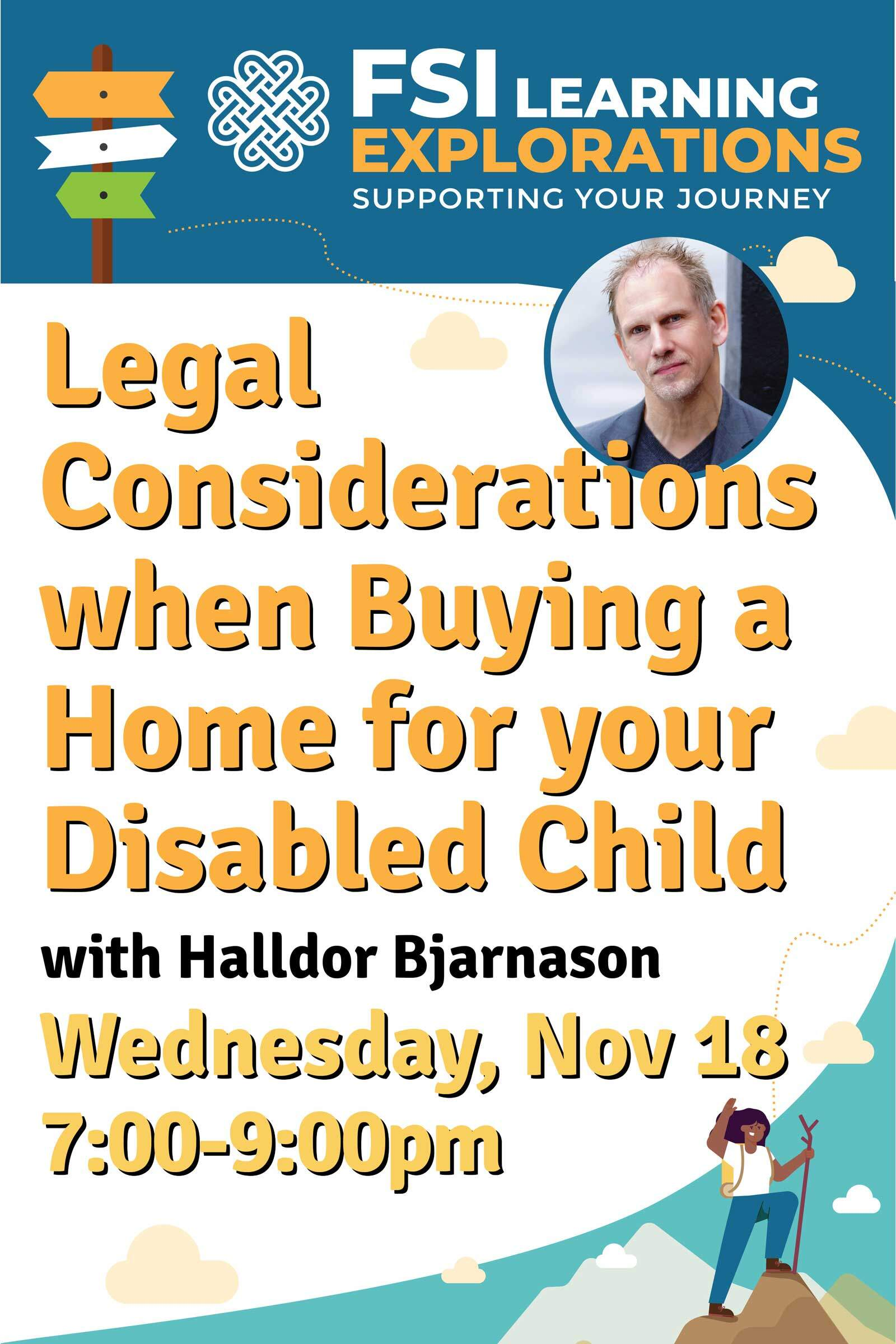 FSI Learning Explorations - Legal Considerations When Buying a Home for your Disabled Child