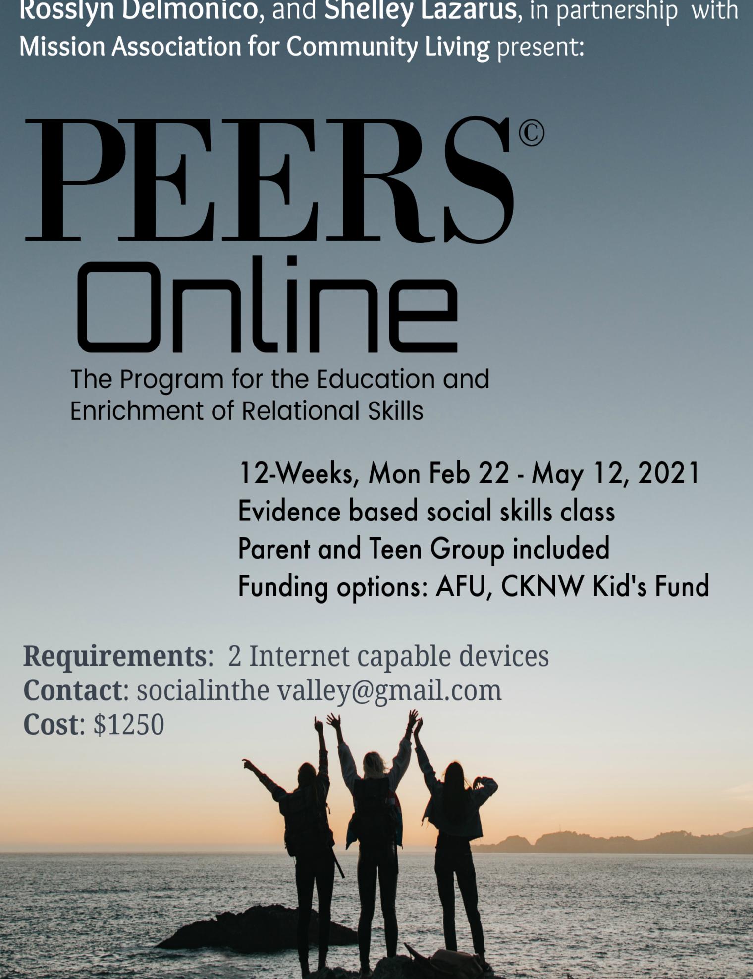 PEERS© Online for Pre-teens & Teens