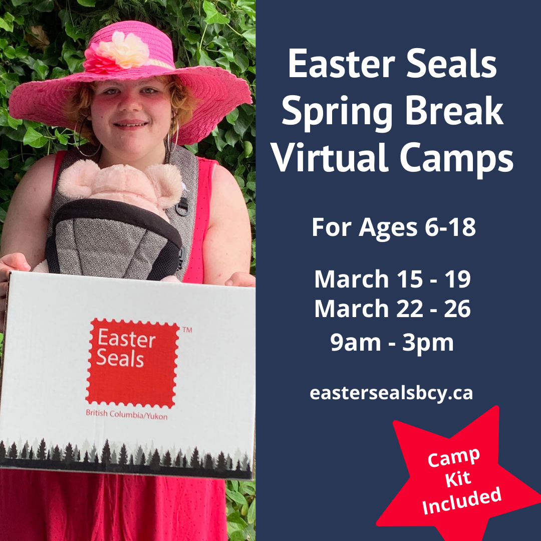 Easter Seals Virtual Spring Break Camps