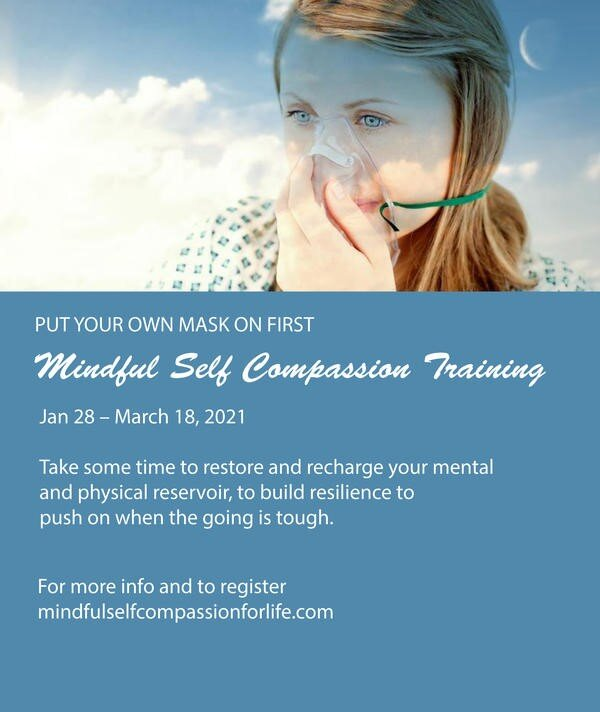 8 Week Mindful Self Compassion Training Online