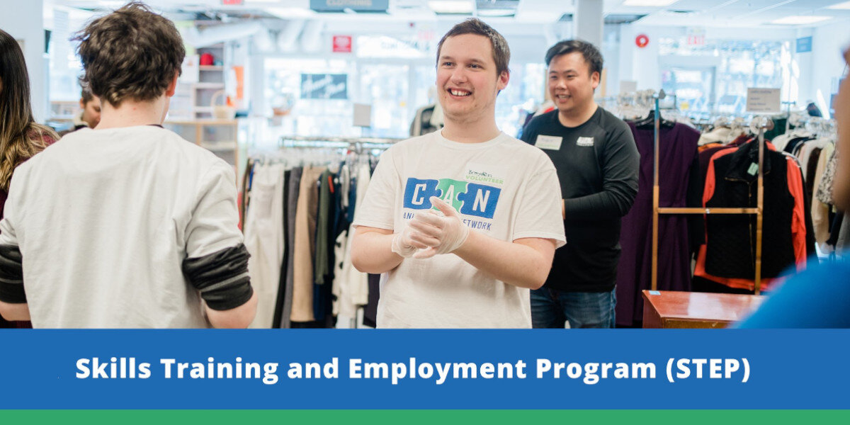 Skills Training & Employment Program (STEP) | Canucks Autism Network