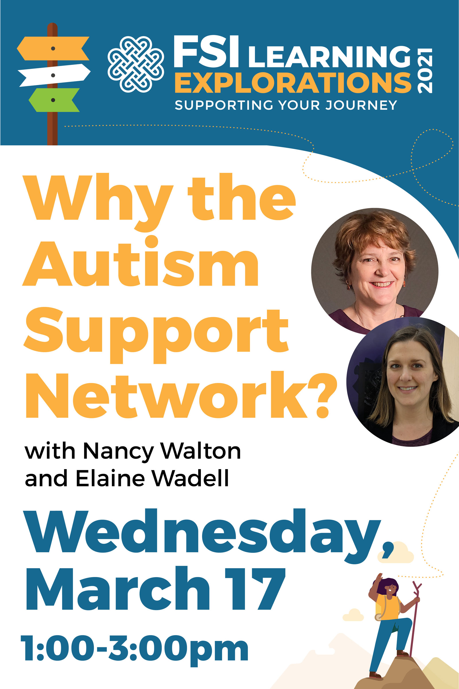 FSI Learning Explorations -  Why the Autism Support Network?