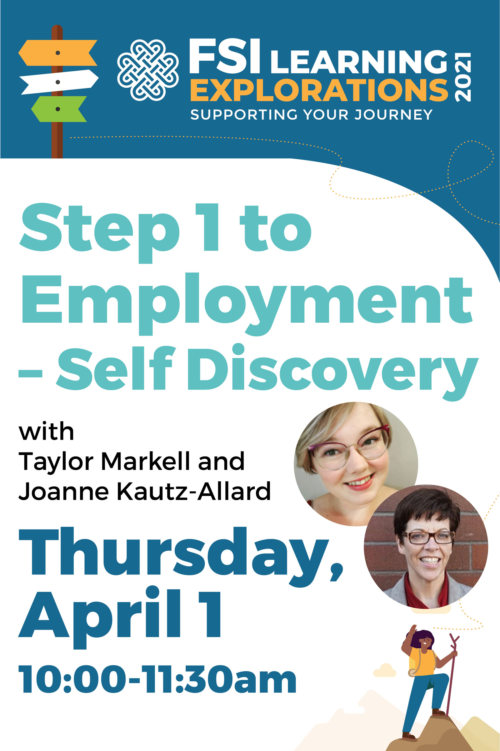 FSI Learning Explorations - Step 1 to Employment – Self Discovery