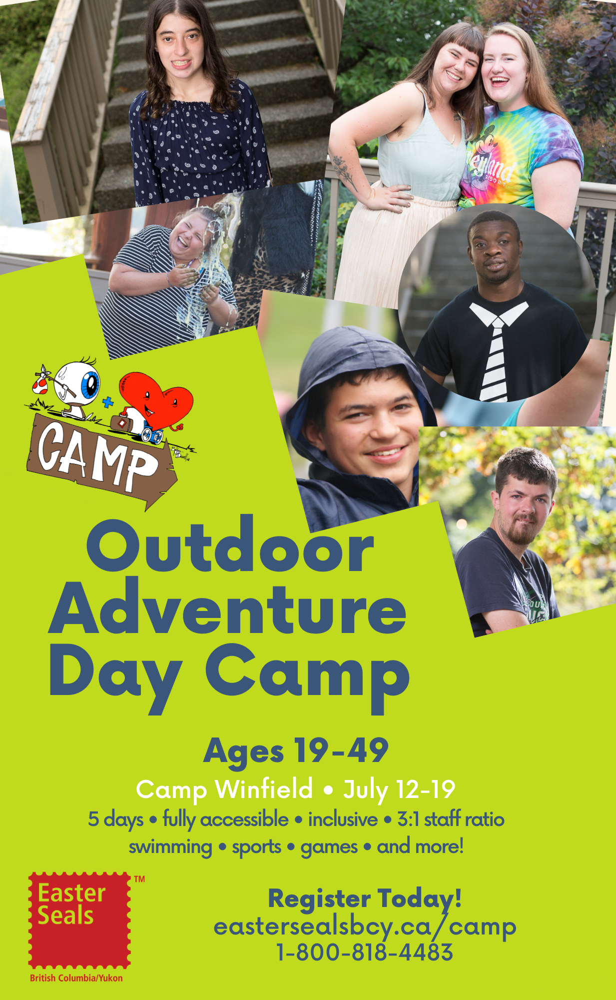 Outdoor Adventure Day Camp (Ages 19-49)