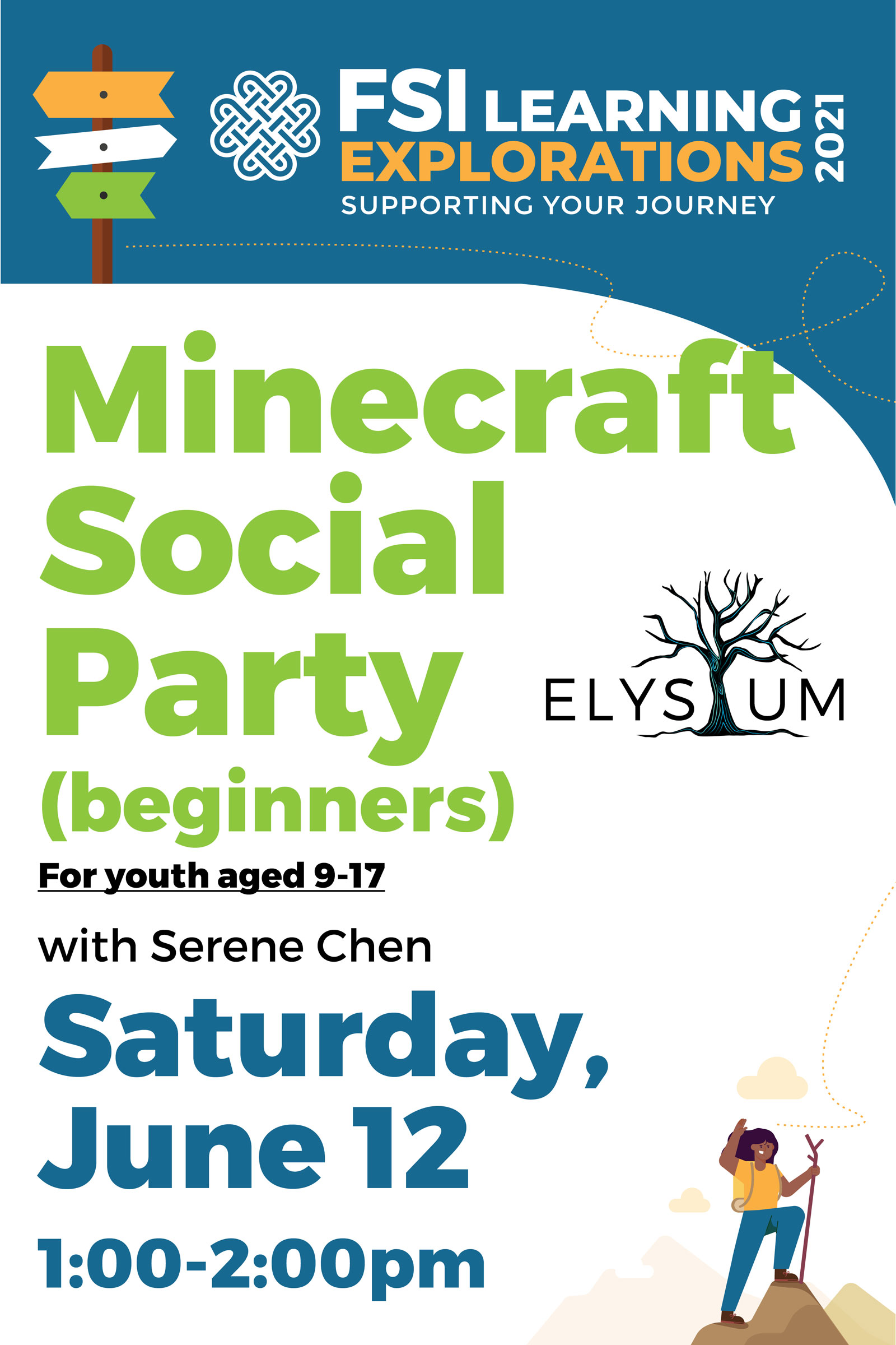 FSI Learning Explorations - Beginners Minecraft Social Party
