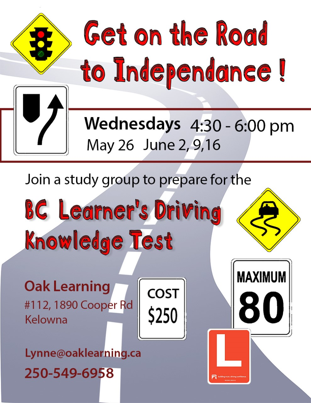 Get on the Road to Independence! - BC Learner's Driving Knowledge Test