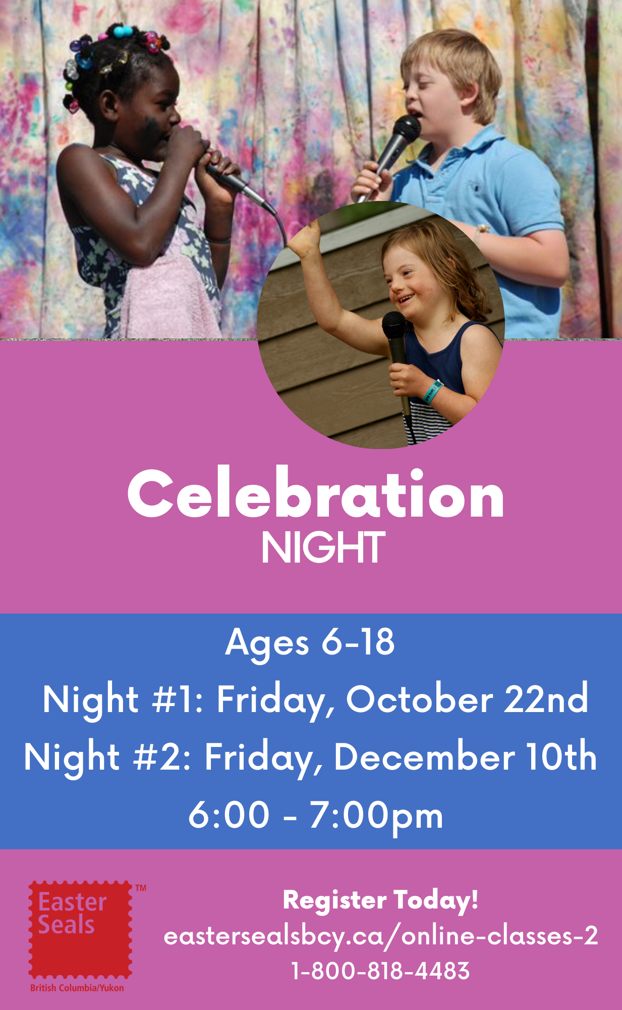 Celebration Night for Ages 6-18