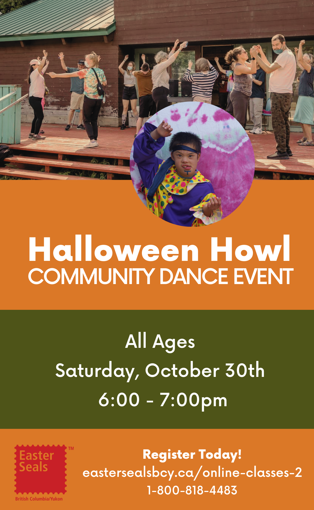 Halloween Howl Community Dance Event for All Ages