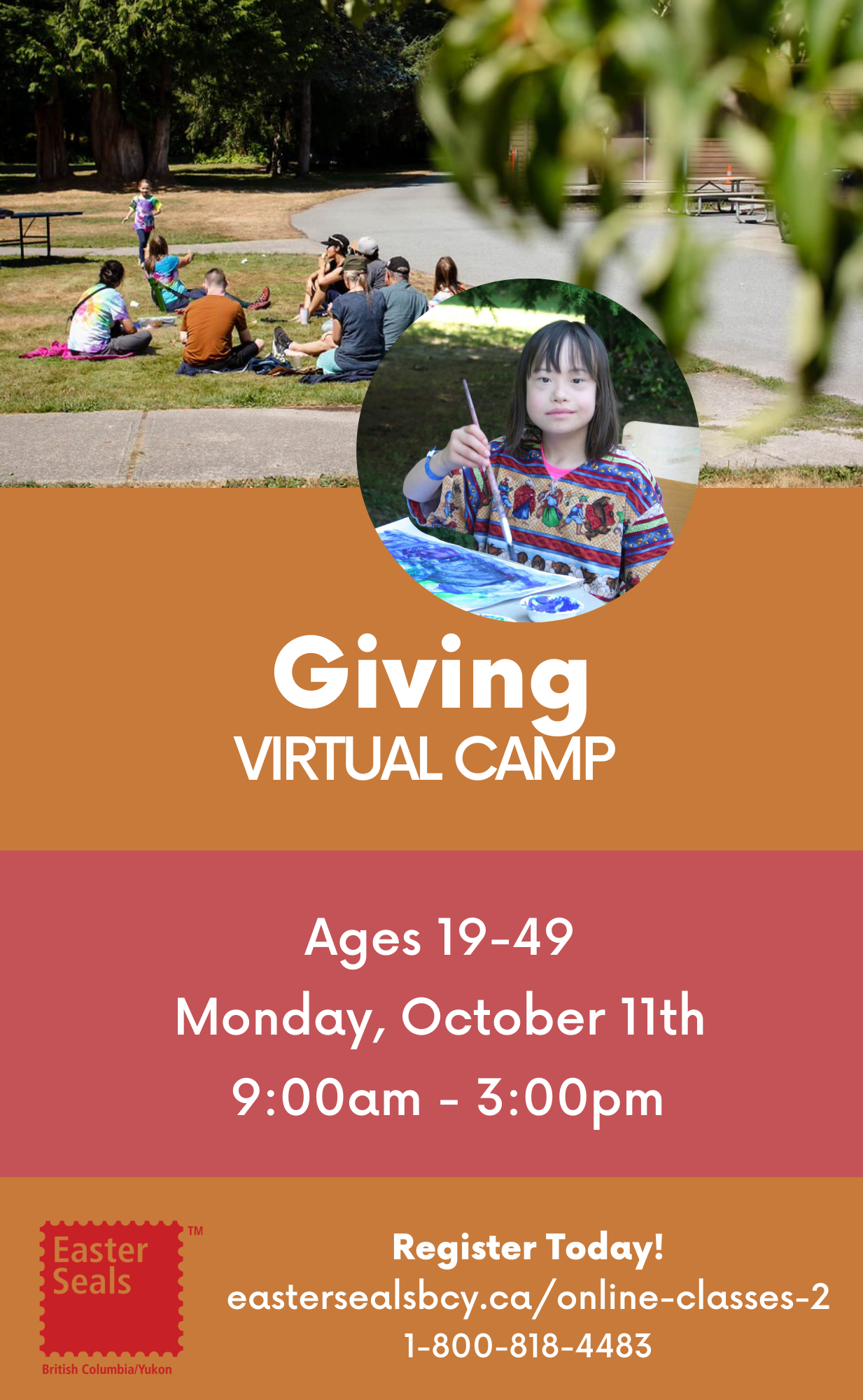 One Day-Giving Virtual Camp