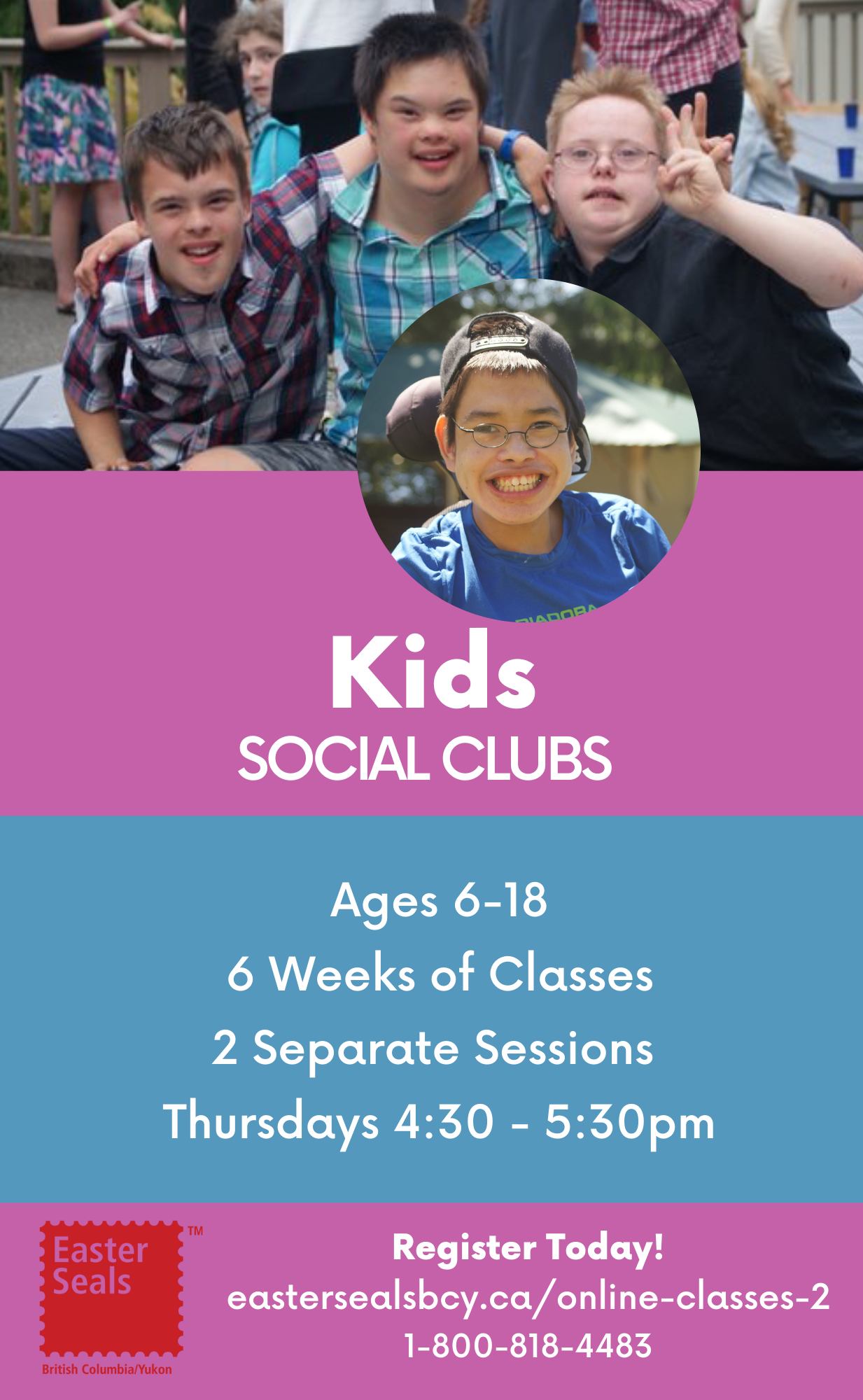 Kids Social Club for Ages 6-18