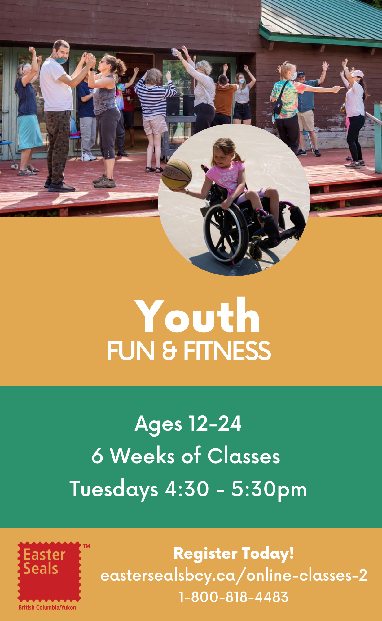 Youth Fun and Fitness for Ages 12-24
