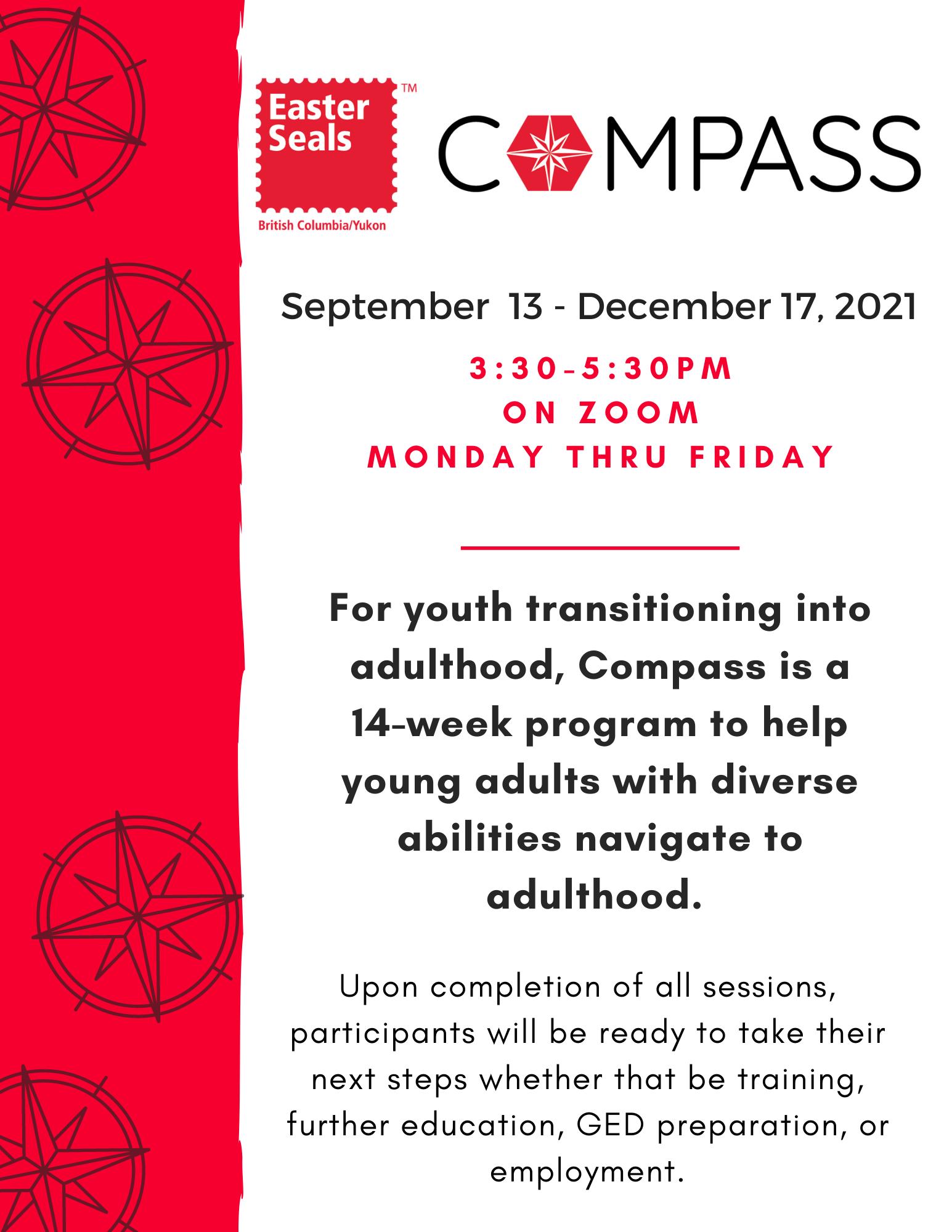 Easter Seals Compass Program - Navigating to Adulthood