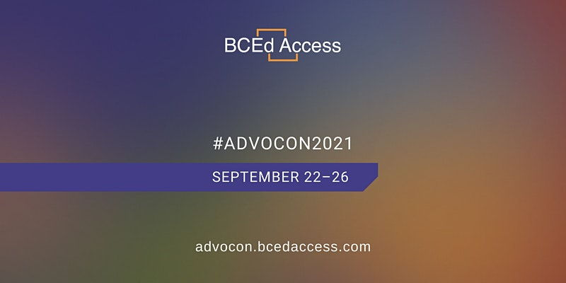 BCEdAccess' 7th Annual Education Advocacy Conference