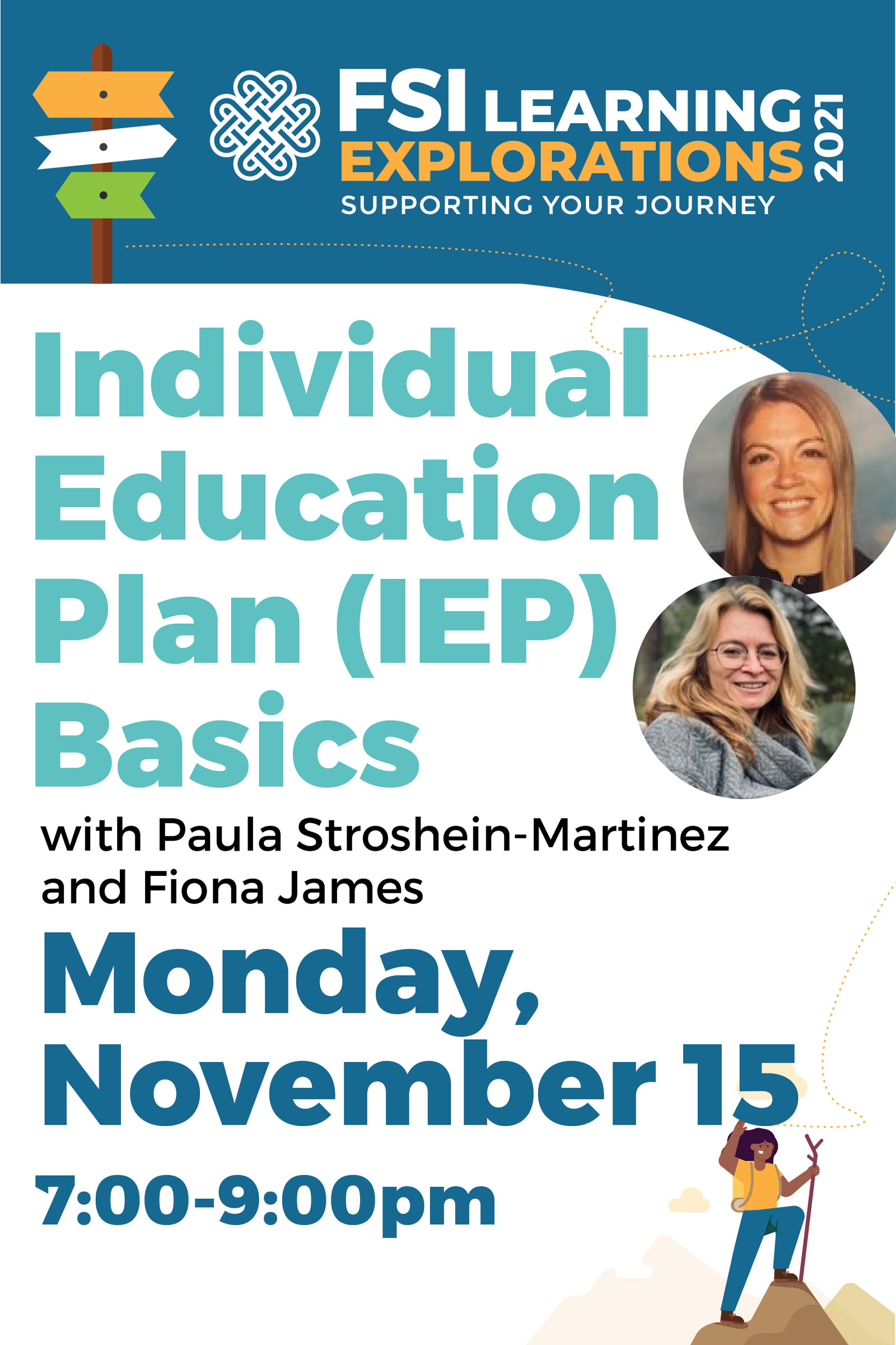 FSI Learning Explorations ~ Individual Education Plan (IEP) Basics